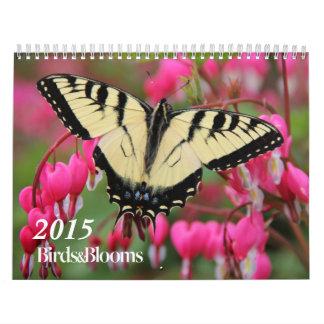 Calendario de los pájaros y de las floraciones