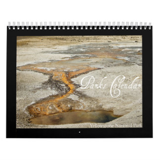 Calendario de los parques - Yellowstone NP