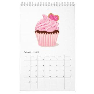 Calendario de los pasteles de la magdalena