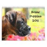 Calendario de los perritos 2011 del boxeador