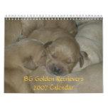 Calendario de los perros perdigueros de oro 2007 d