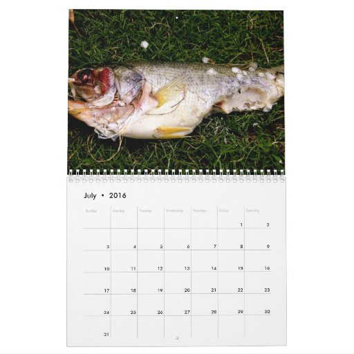 calendario de los pescados