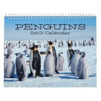 Calendario de los pingüinos