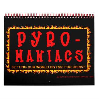 Calendario de los Piro-Maniacos 2008 del Bethel