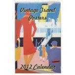 Calendario de los posters 2012 del viaje del vinta