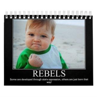 Calendario de los REBELDES