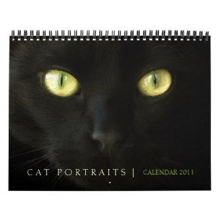 Calendario de los retratos 2011 del gato