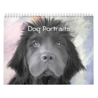 Calendario de los retratos del perro