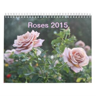 Calendario de los rosas 2015