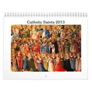 Calendario de los santos 2013