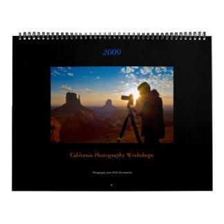 Calendario de los talleres 2009 de la fotografía
