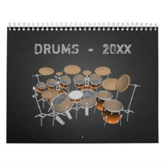 Calendario de los tambores