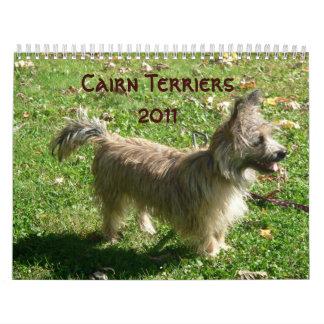 Calendario de los terrieres de mojón 2011
