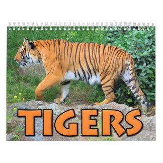 Calendario de los tigres