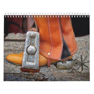Calendario de los vaqueros