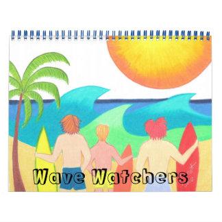 Calendario de los vigilantes de la onda
