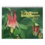 Calendario de los Wildflowers 2013 de Tennessee