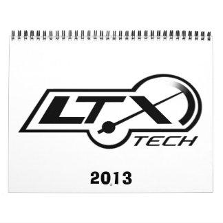 calendario de LTxTech.com 2013