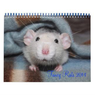 Calendario de lujo de las ratas 2014