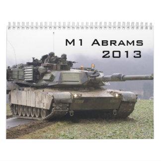 Calendario de M1 Abrams
