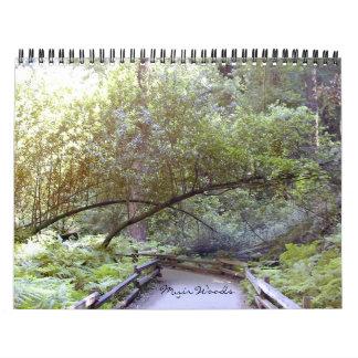 Calendario de maderas de Muir