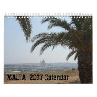 Calendario de MALTA 2007