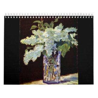 Calendario de Manet 2014
