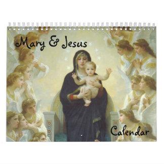 Calendario de Maria y de Jesús 2012