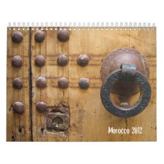 Calendario de Marruecos 2012
