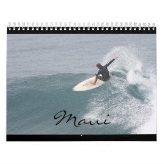 ¡Calendario de Maui!! Calendario