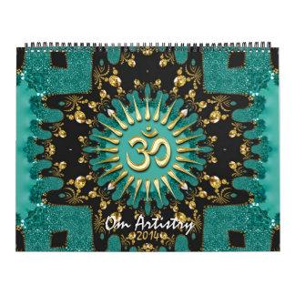 Calendario de Meditational de la edad de la yoga