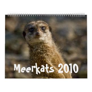 Calendario de Meerkats 2010