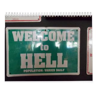 Calendario de Michigan del infierno