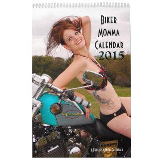 Calendario de Momma del motorista