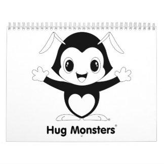 Calendario de Monsters® del abrazo