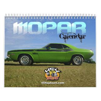 Calendario de Mopar