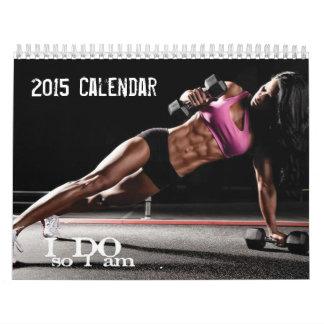 Calendario de motivación 2015 de la aptitud para