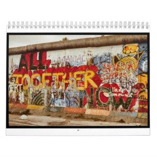 Calendario de muro de Berlín
