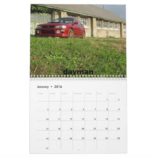 Calendario de NES 2010