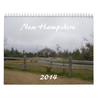 Calendario de New Hampshire 2014