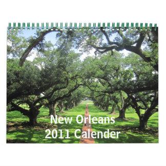 Calendario de New Orleans 2011