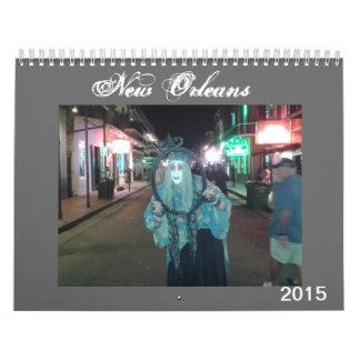 Calendario de New Orleans 2015