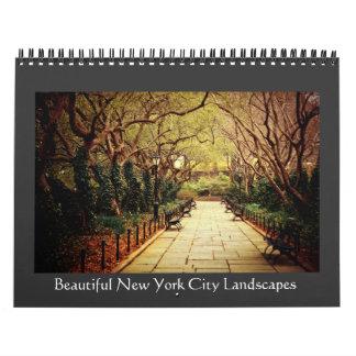 Calendario de New York City 2013 - paisajes hermos