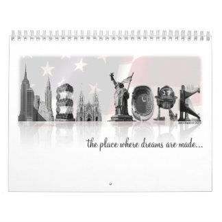 Calendario de Nueva York