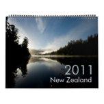Calendario de Nueva Zelanda 2011