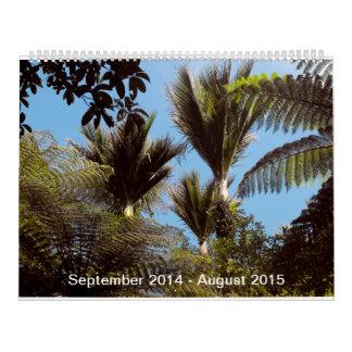 Calendario de Nueva Zelanda Bush