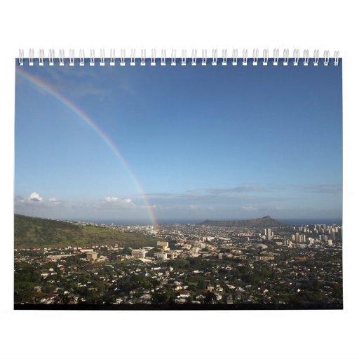 Calendario de Oahu, Hawaii 2013