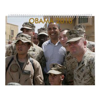 Calendario de Obama 2010
