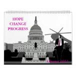 Calendario de Obama 2011