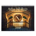 Calendario de obispo Hill Illinois 2008
